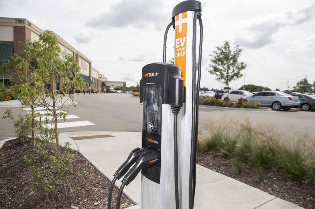 ChargePoint car charger
